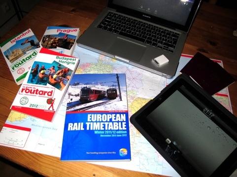 INTERRAIL, Prague, Budapest, Istanbul