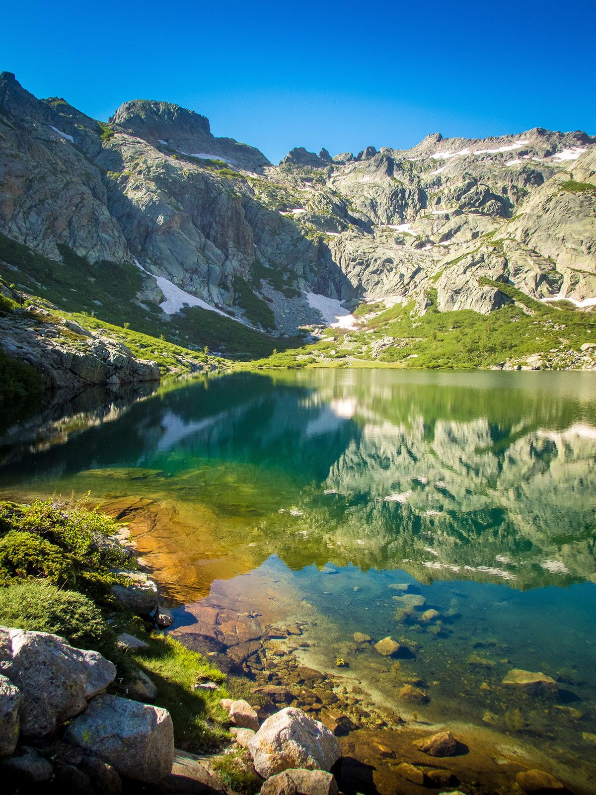 Corse, Randonnée 3 jours entre Restonica et Tavignano